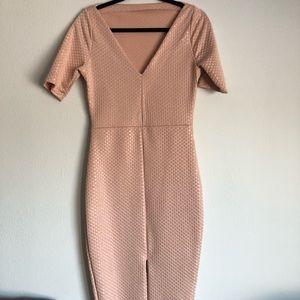 Zara Dresses - High Neck Midi Dress Bodycon